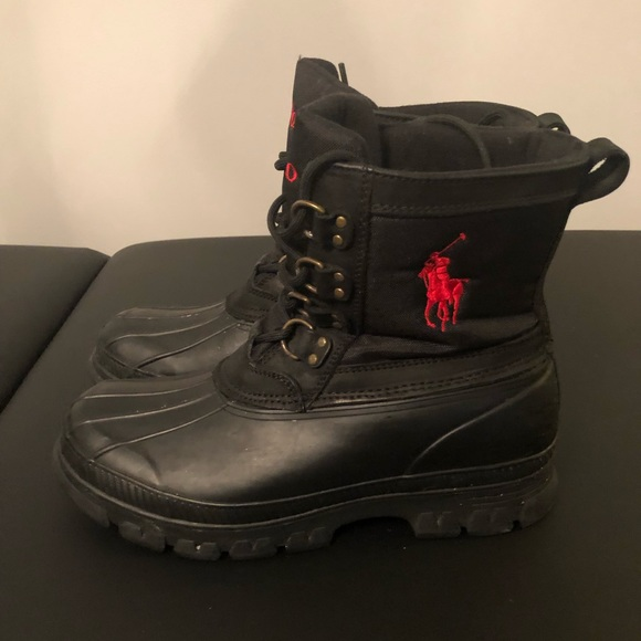 Mens Polo By Ralph Lauren Snow Boots